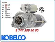 Стартер kobelco sk60,  sk70 8-97137-478-2